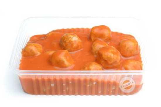 Afbeelding van Balletjes in tomatensaus