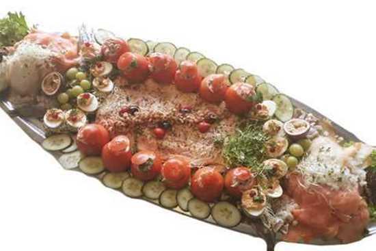 Afbeelding van Vlees-en visbuffet